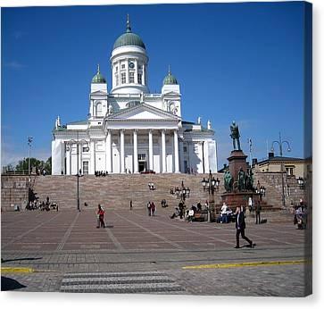 Helsinki Finland-1 Canvas Print by Yury Bashkin