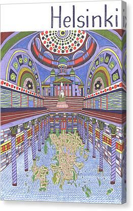 Helsinki Canvas Print by Ushma Sargeant