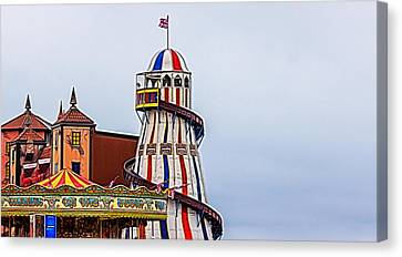 Helter Skelter Canvas Print by Angela Aird