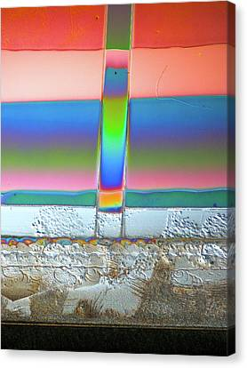 Canvas Print featuring the photograph Helub by Sheep McTavish