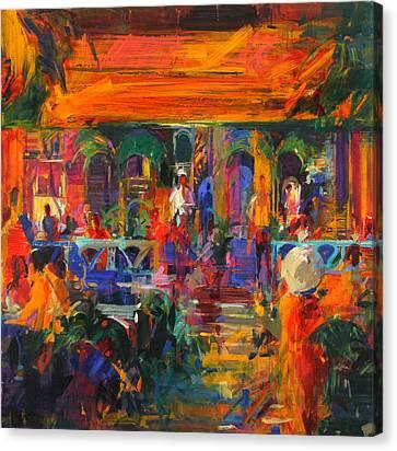 Hemingway Summer Canvas Print by Peter Graham