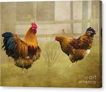 Hen Party Dancin The Night Away Canvas Print by Linsey Williams