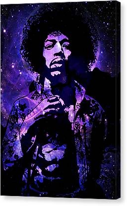 Hendrix Nebula Hendrix Canvas Print by Andy Rowlands