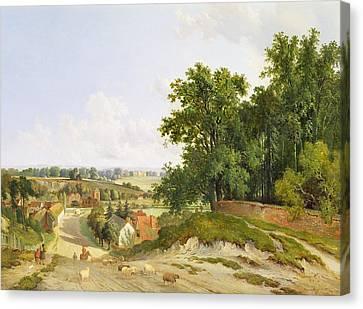 Henley On Thames Canvas Print by Arthur Gilbert