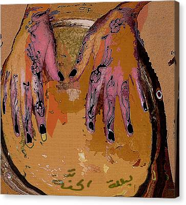 Henna Canvas Print by Noredin Morgan