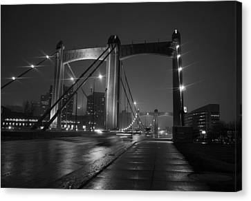 Hennepin Avenue Bridge Canvas Print by Heidi Hermes