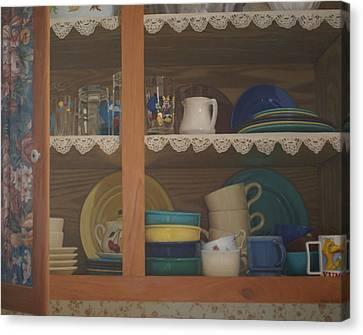 Henrietta's Cupboard Canvas Print