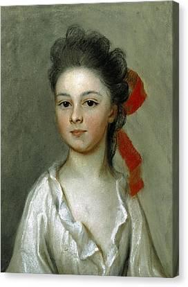 Henriette Charlotte Chastaigner. Mrs. Nathaniel Broughton Canvas Print