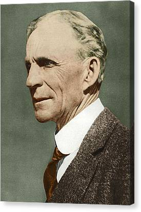 Henry Ford, Us Car Manufacturer Canvas Print