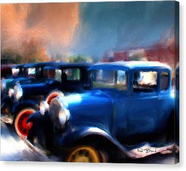 Henry Ford Weekend  2 Canvas Print by Fred Baird