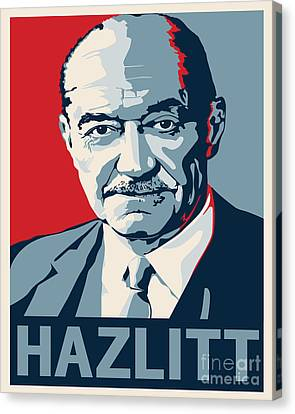 Henry Hazlitt Canvas Print