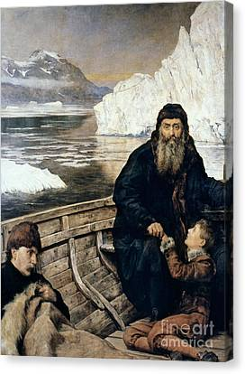 Henry Hudson And Son Canvas Print by Granger