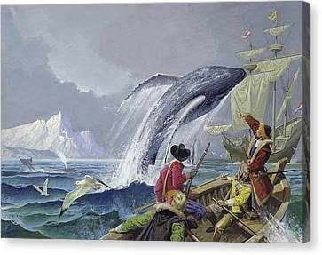 Henry Hudson Canvas Print by Severino Baldini