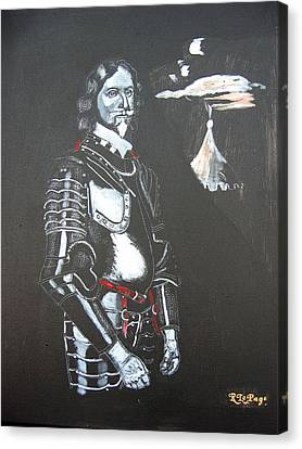 Canvas Print featuring the painting Henry Ireton by Richard Le Page