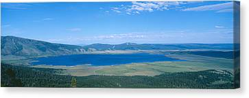 State Of Montana Canvas Print - Henry Lake, Big Sky Country, Montana by Panoramic Images