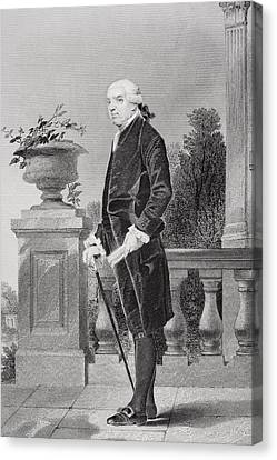 Henry Laurens 1724 - 1792. American Canvas Print by Vintage Design Pics