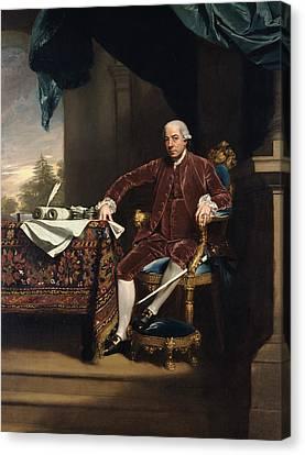 Henry Laurens Canvas Print by John Singleton Copley