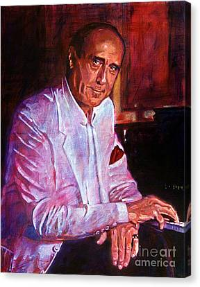 Henry Mancini Canvas Print by David Lloyd Glover