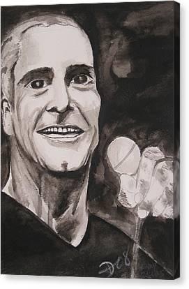 Henry Rollins Canvas Print by Darkest Artist