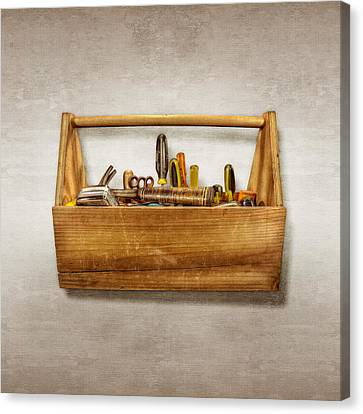 Container Canvas Print - Henry's Toolbox by YoPedro