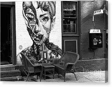 Hepburn On Mulberry Street Canvas Print by John Rizzuto