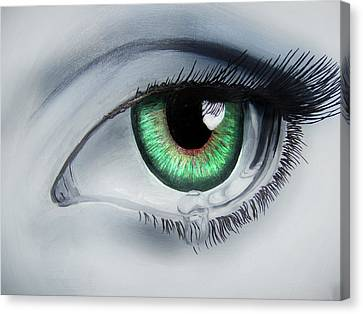 Her Eye Canvas Print by Michael McKenzie