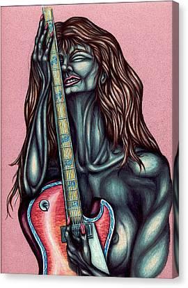 Her Great Loss Canvas Print by Karen Musick