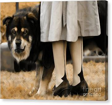 Her Guardian  Canvas Print by Steven Digman
