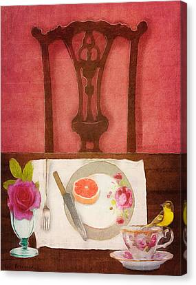 Her Place At The Table Canvas Print