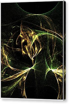 Her Resentments Eternal Self Damnation Canvas Print by Rebecca Phillips