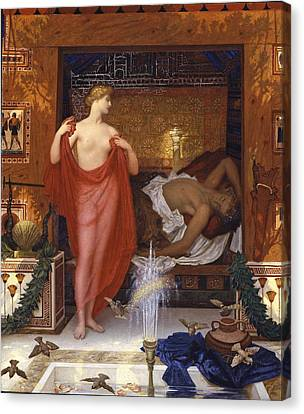 Hera In The House Of Hephaistos Canvas Print