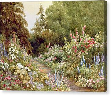 Herbaceous Border  Canvas Print