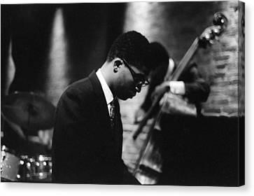 Grammy Winners Canvas Print - Miles Davis Quintet At Penthouse by Dave Coleman