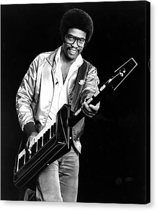 Herbie Hancock, 1980s Canvas Print by Everett