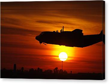 Hercules Rising Canvas Print by Don Prioleau