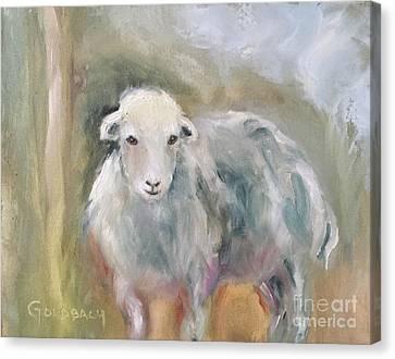 Herdie Girl Canvas Print