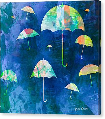 Here Comes That Rainy Day Feeling Again Canvas Print by Bill Cannon