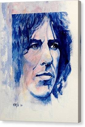 Here Comes The Sun - George Harrison Canvas Print by William Walts
