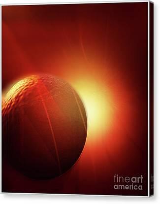 Here Comes The Sun Canvas Print by John Krakora