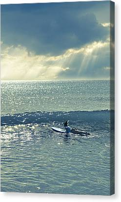 Here Comes The Sun Canvas Print by Laura Fasulo