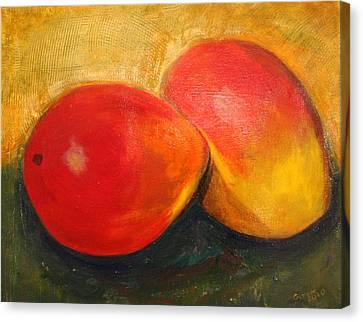Here We Mango Again Canvas Print
