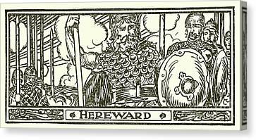 Hereward The Wake  Canvas Print
