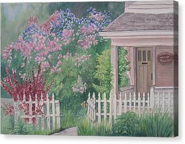 Heritage House Canvas Print by Debbie Homewood