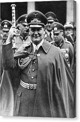 Hermann Goering 1893-1946, Holding Canvas Print by Everett