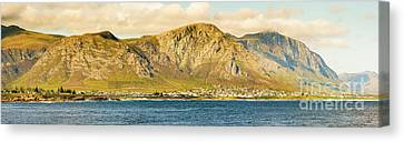 Hermanus Sunset Panorama Canvas Print by Tim Hester