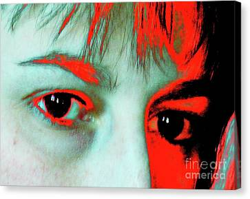 Canvas Print featuring the photograph Hermine Unanswered by Jesse Ciazza