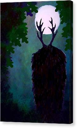 Herne The Hunter Canvas Print by John Lenz