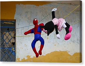 Hero Complex Canvas Print by Skip Hunt