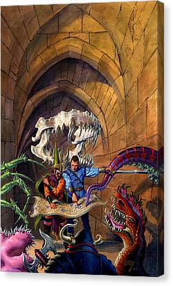 Atlantis Canvas Print - Hero Wanted by Richard Hescox