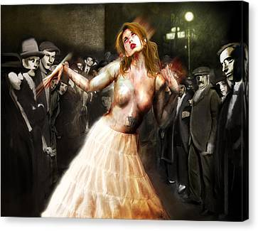Herr Drosselmeyer's Doll Canvas Print by Mandem